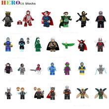 Super Heroes panther ant Man vulture doctor strange Building Blocks spawn wasp beetle goblin Figure Bricks Toy Compatible Legoed(China)