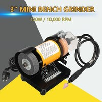Electric Mini Grinder Polishing Machine Grinding Machine Mini Electric Bench Grinder Flexible Shaft Rotary Grinder Polisher Tool