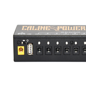 Image 5 - Caline CP 04 Guitar Pedal Power Supply 10 Isolated Output Power Tuner Short Circuit /Over current Protection Guitar Effect Power