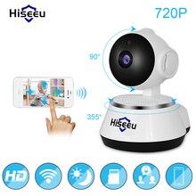 Hiseeu безопасности IP Камера Беспроводной Смарт Wi-Fi Камера Wi-Fi аудио запись видеонаблюдения радионяня HD Mini CCTV Камера hiseeu