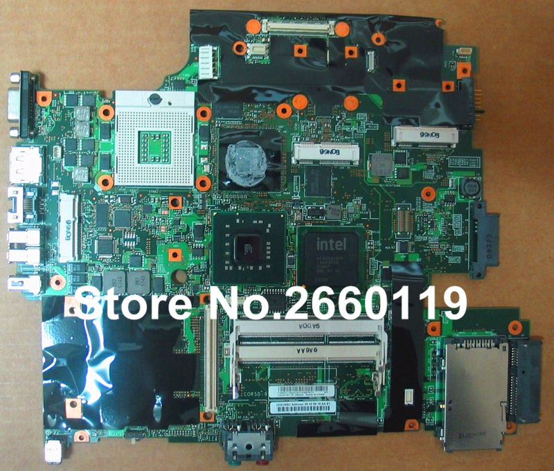 ФОТО laptop motherboard for lenovo W500 60Y3779 system board fully tested and working well