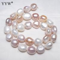 11 12mm Cultured Potato Freshwater Pearl Beads Loose Beads Strand 15.5 for DIY Women Necklace Bracelet Jewelry Making Findings