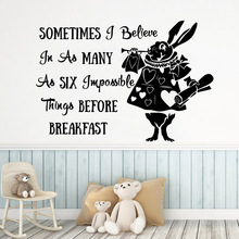 Removable sentence Wallpaper Home Decoration Wall Sticker For Kids Room Art Mural