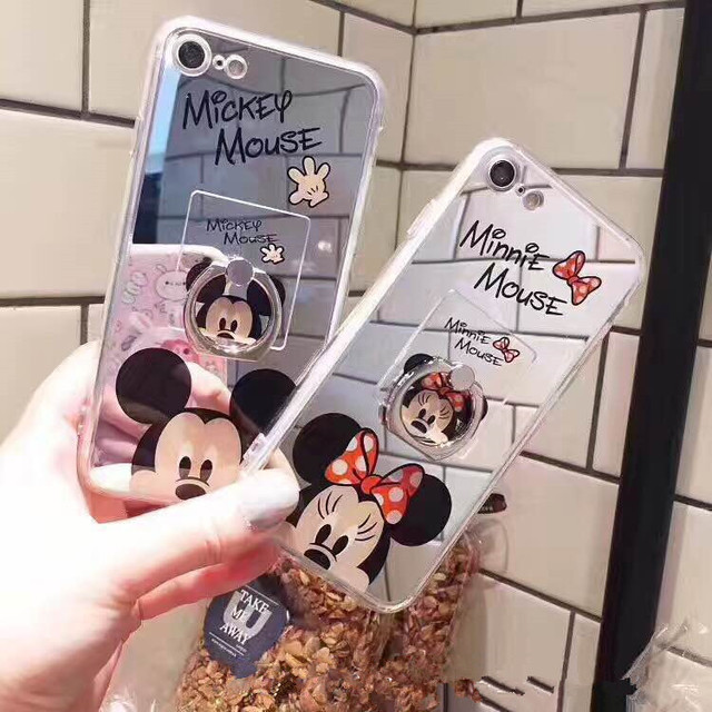 coque iphone 7 miroir mickey