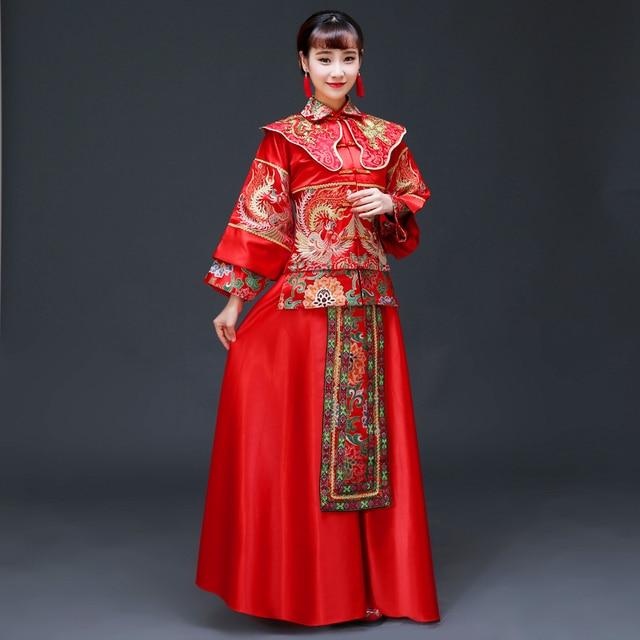 f16bcc2c043c Visualizzza di più. Buona qualità Costume Cosplay mostra matrimonio stile  cinese Vestito cerimonia nuziale della sposa del vestito da
