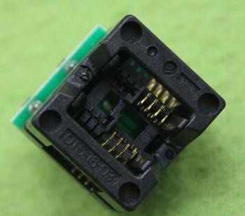 Darmowa wysyłka 10 sztuk partia SOP8 kolei DIP8 SOP8 do DIP8 IC gniazdo programatora adapter gniazdo 150mil tanie i dobre opinie lot (10 pieces lot) 0 2kg (0 44lb ) 10cm x 10cm x 4cm (3 94in x 3 94in x 1 57in)
