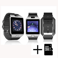 Wearable Devices DZ09 Smart Watch Support SIM TF Card Electronics Wrist Watch Connect Android Smartphone 32GB