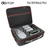 DOITOP Portable Storage Case Carry Bag For DJI Mavic Pro Drone & Accessories Waterproof Shoulder Bag Handbag for Mavic Pro Drone