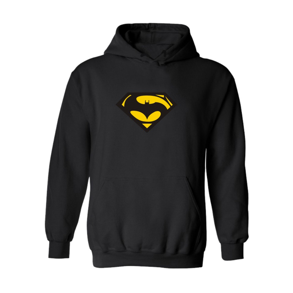 Trend Mark Superman Vs Batman Hooded Straat Hoodies Mannen Merk In Super Man Saiyan Heren Boys/girls Hooded Sweatshirts Black Voor Koppels Lovely Luster Men's Clothing