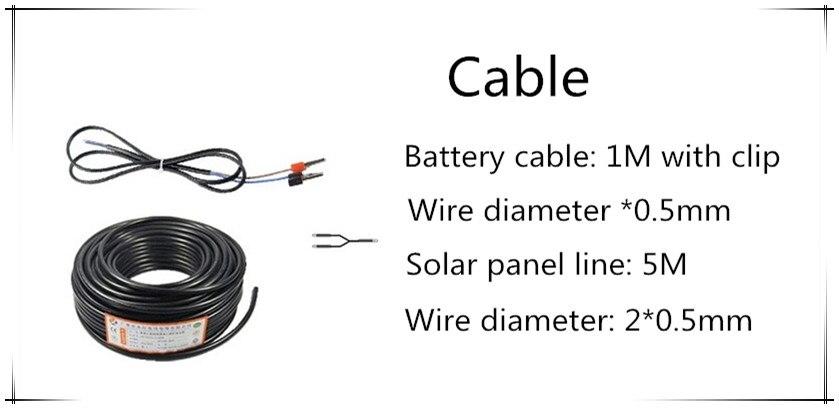 painel solar com controlador solar kit diy 05