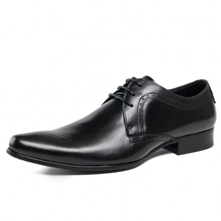 Britânico Formal Couro Casamento Alta Qualidade Festa a0072 Homens Macio Moda Estilo Fivela Sapatos Banquete 1 Vestido Da 2 Js De Genuíno q0txtOa