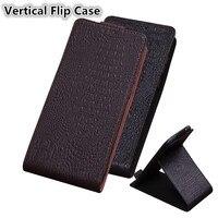QX09 Luxury Flip Vertical Genuine Leather Phone Case For Huawei Honor Play Case For Huawei Honor Play Vertical Flip Case