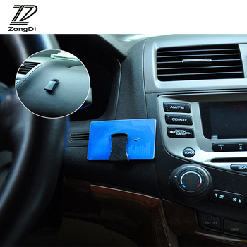 ZD 1pcs For Alfa Romeo 159 BMW E46 E39 E36 E90 F20 E92 Audi A3 A6 C5 A4 B6 B8 Car Multifunctional Card bags Glasse Clip Holder image