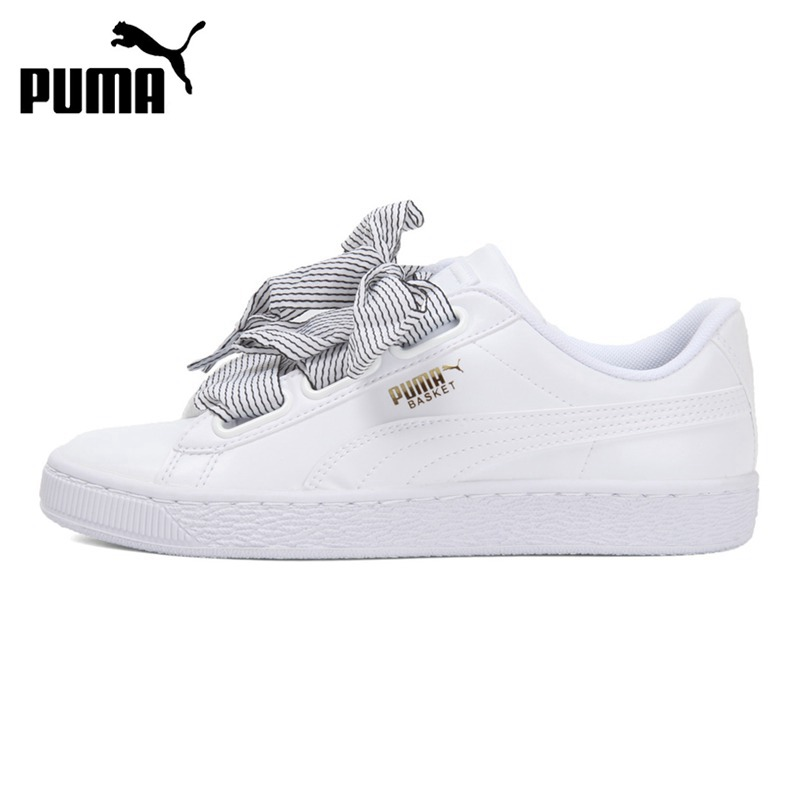 super popular 2f446 4770f Original New Arrival 2018 PUMA Basket Heart Wn's Women's Skateboarding  Shoes Sneakers
