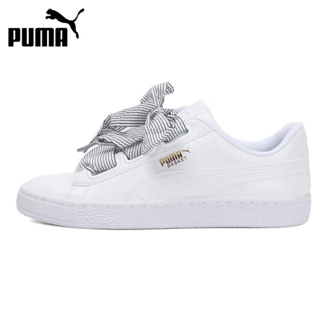 Original New Arrival 2018 PUMA Basket Heart Wn s Women s Skateboarding Shoes  Sneakers a25cd2de1