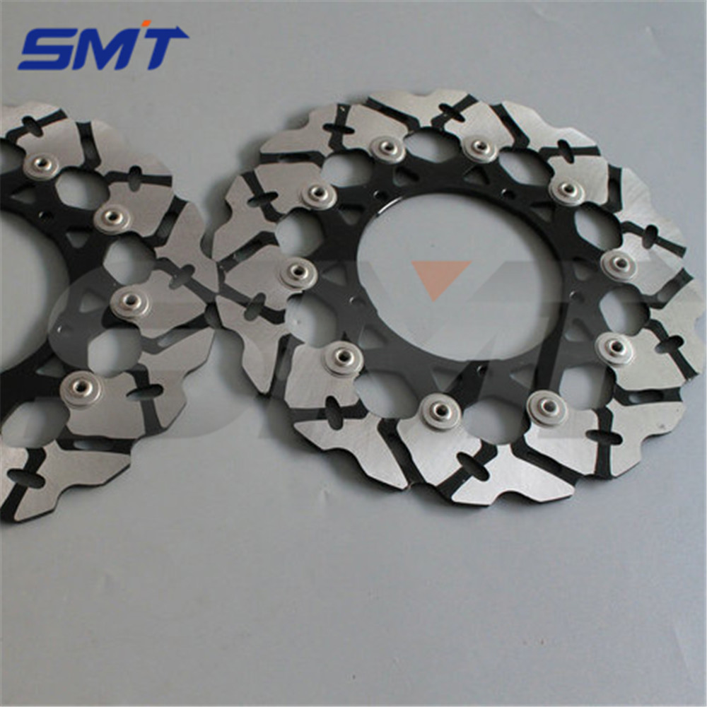 motorcycle Aluminum alloy inner ring & Stainless steel outer ring front brake disc rotor For YAMAHA FZ1 1000 2006 2007 2008 2009 motorcycle aluminum alloy inner ring