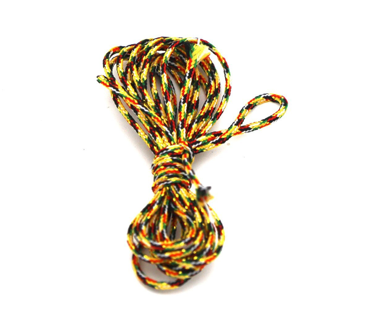 Passion Junetree Cotton Cords Strings Ropes for DIY Necklace Craft Making 1.8mm 10 meters multi color