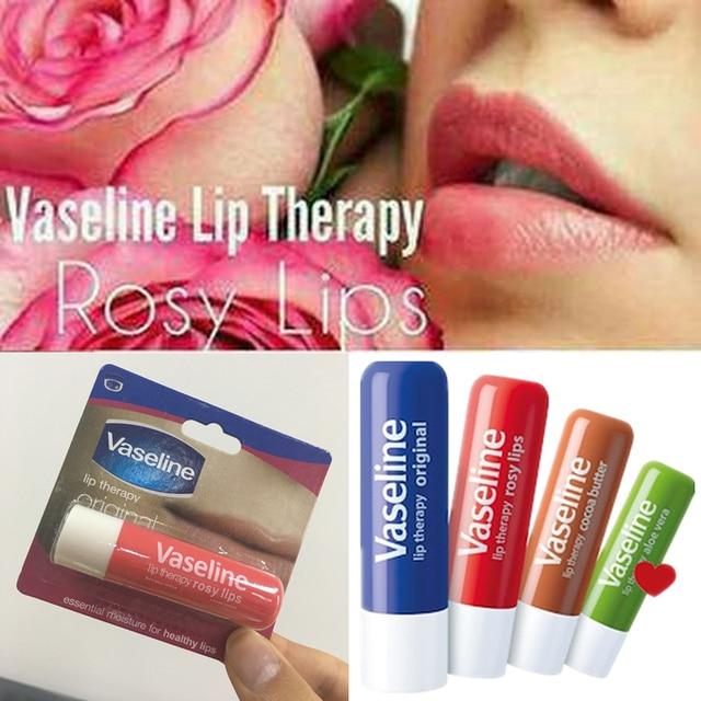 וזלין Lipbalm Essentail להזין אורגני וזלין שפתון איפור שפתון קרם לחות לחות מזין שפתי