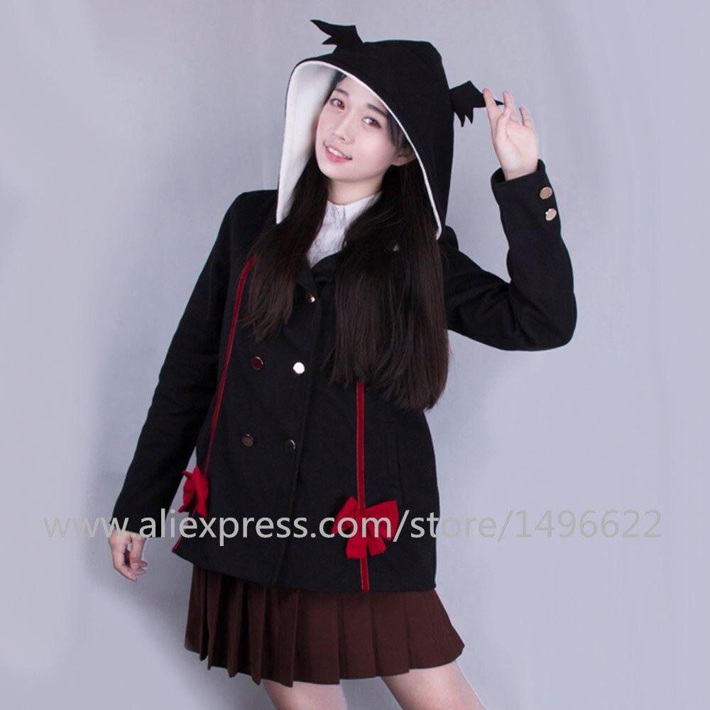 Anime Seraph of the end Krul Tepes Hoodies Cosplay Cotton Jackets Winter Sweatshirts Cute Girl Coat Halloween