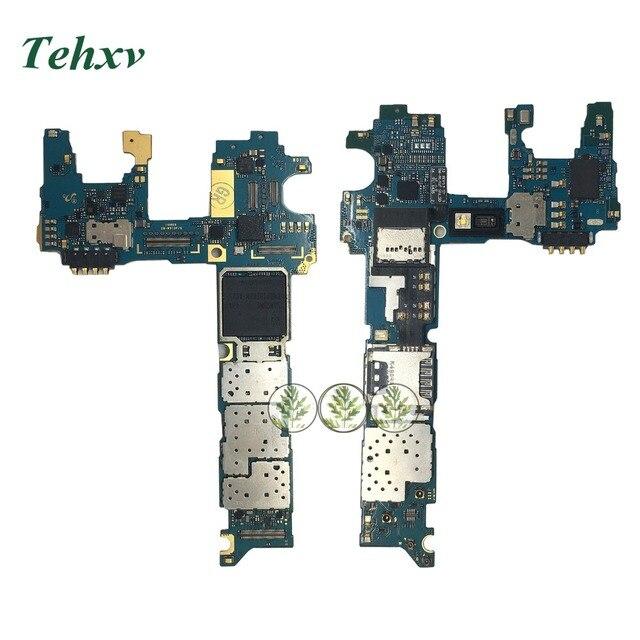 US $22 0 |Tehxv For Samsung Note 4 N910T N910F N910C N910A N910W8 N910P  N910V Motherboard Full Unlocked Mainboard 32GB Logic Board-in Mobile Phone