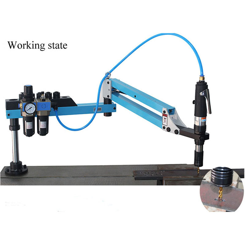 CE M3-M16 Vertical Type Pneumatic Air Tapping Machine  Drilling Machine Pneumatic Tapping Machine Tapper Taps Threading Machine