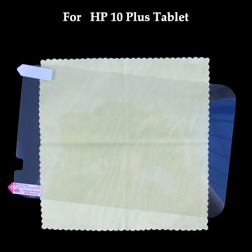 High definition clear film Glossy Clear Screen Protector film for HP 10 Plus Tablet 10.1