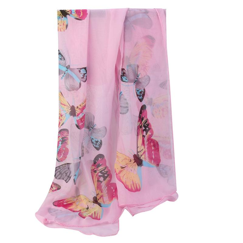 MUQGEW Fashion Women Chiffon Soft   Wrap     scarf   Ladies Shawl   Scarf     Scarves   Wonderful Flower Long Soft Scarfs New Creative