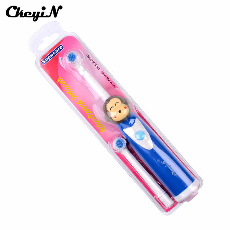 Электронная Силиконовая зубная щетка для детей, водонепроницаемая мягкая щетина, для детей, для отбеливания зубов, Мягкая зубная щетка, стоматологическое оборудование для чистки рта, 44