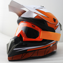 Motocross Helmets Off Road Racing bike Helmet Moto Casco Capacete with goggles casque moto cross cycling helmet