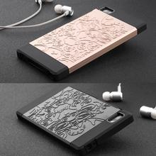 New phone case For xiaomi mi 3 High quality silicone+PC hard