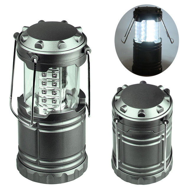 LED camping Lantern Bivouac Hiking Camping Night light outdoor tent light does not contain batteries Drop shipping wholesale