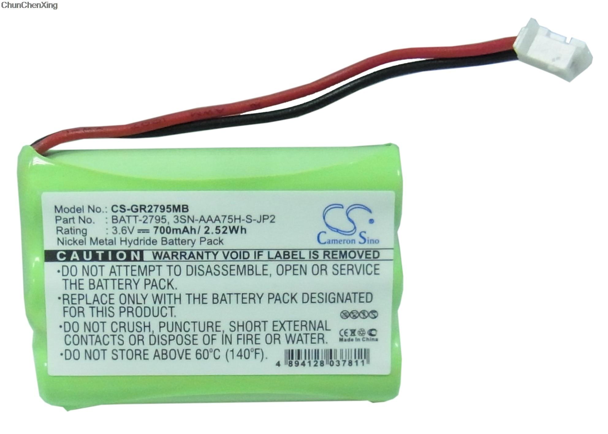 Cameron Sino 700mAh Battery CB94-01A, TFL3X44AAA900 For Motorola MBP33, MBP36, MBP36PU