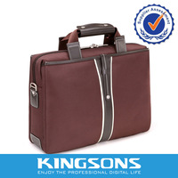 Kingsons Shockproof Waterproof Airbag Computer Bag Handbag 15 Notebook Computer Business Briefcase Satchel Free Shipping