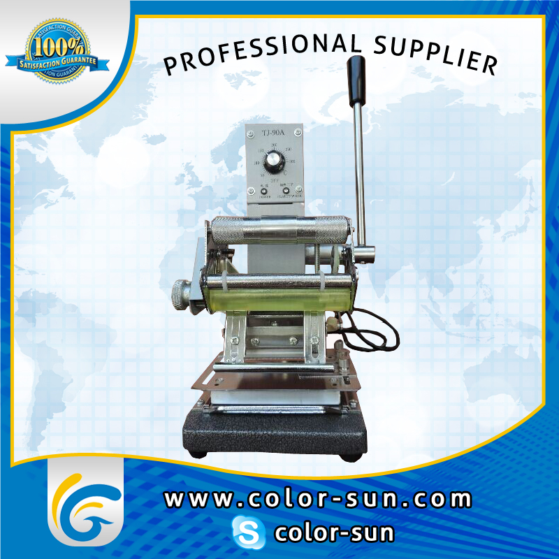 High Quality PVC Card Hot Foil Stamping Machine