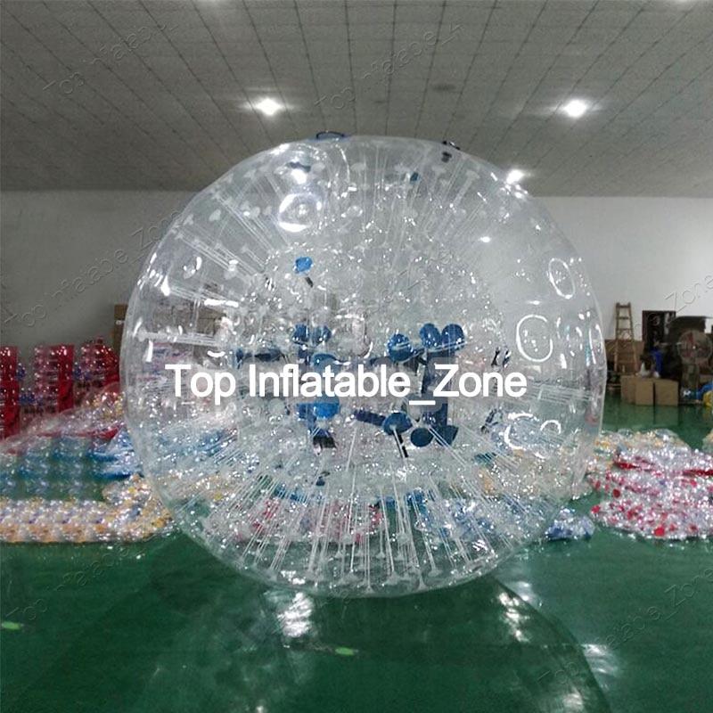 Livraison Gratuite transparent dia 3 m PVC gonflable combats zorb boule de mode marche de l'eau balle