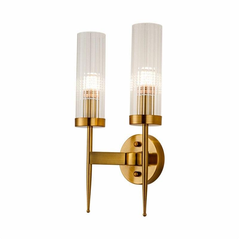 Пост современный золотой настенный светильник спальня кухня лестница Led настенное зеркало с подсветкой промышленный декор столовая Прихожая стекло освещение приспособление