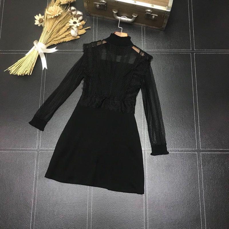 We12162 Nouvelles Mode Marque Qualité Partie Printemps Robe Luxe 2019 Haute Européenne De Style Design Femmes CaqTC