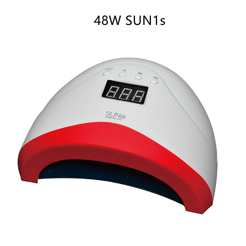 New 48W <font><b>SUN1s</b></font> Professional UV LED Lamp Curing Gel Nail Dryer Curing for UV LED Gel Nails Polish Nail Art Tools image