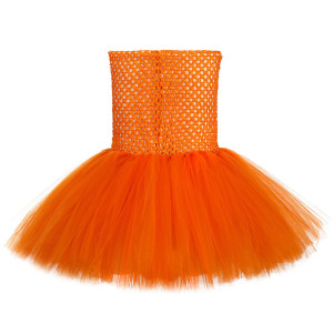 Image 3 - Cute Fox Tutu Dress Outfit Toddler Baby Girls Birthday Party Dress Crazy Animal Nick Halloween Carnival Cosplay Costume for Kids