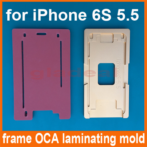 Aluminium Glass Frame Mold for iPhone 6S Plus of LCD Touch Screen Separator OCA Laminating Display Repair Refubish Machine Tool 15ml b7000 multipurpose adhesive diy tool jewelry rhinestones fix touch screen phone middle frame housing glass tube glue b 7000