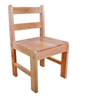 The New Backrest Chair Stool Solid Wood Stool Can Be Dismantled With Casual Clothes