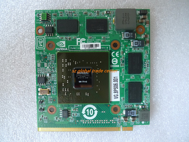 nVidia Graphics Video Card GeForce 8600 8600M GS 8600MGS MXM II DDR2     nVidia Graphics Video Card GeForce 8600 8600M GS 8600MGS MXM II DDR2 256MB  G86 770