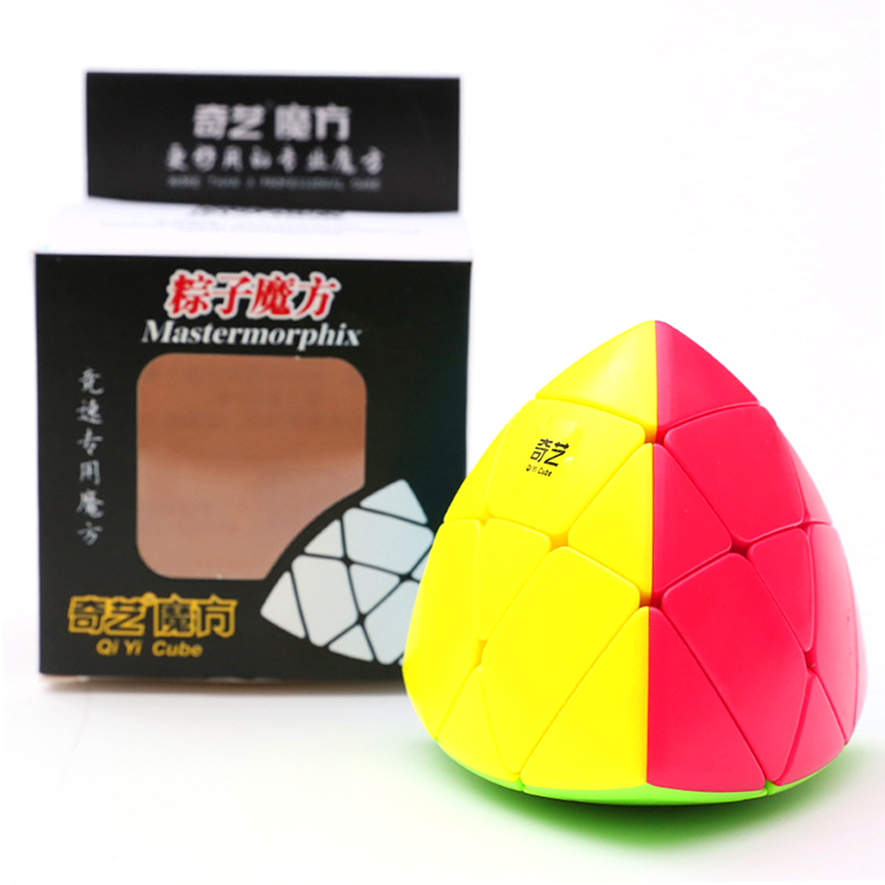 Qiyi Mastermorphix 3x3 Puzzle Magic Cube Rice Dumpling Speed Cube Professional Pyramorphix Educational Learning Toy For Children
