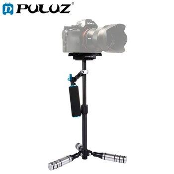 Estabilizador portátil PULUZ para DSLR Metal capacidad 0,5-3 kg estabilizador de fibra de carbono para DV Digital Video y cámaras longitud 27-37cm