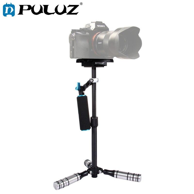 PULUZ Handheld Stabilizer For DSLR Metal Capacity 0.5-3kg Carbon Fibre Stablilzer For DV Digital Video&Cameras length 27-37cmPULUZ Handheld Stabilizer For DSLR Metal Capacity 0.5-3kg Carbon Fibre Stablilzer For DV Digital Video&Cameras length 27-37cm