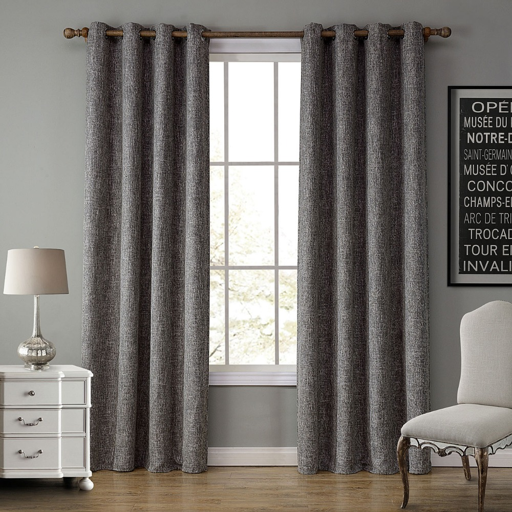 Modern Style Curtains Living Room