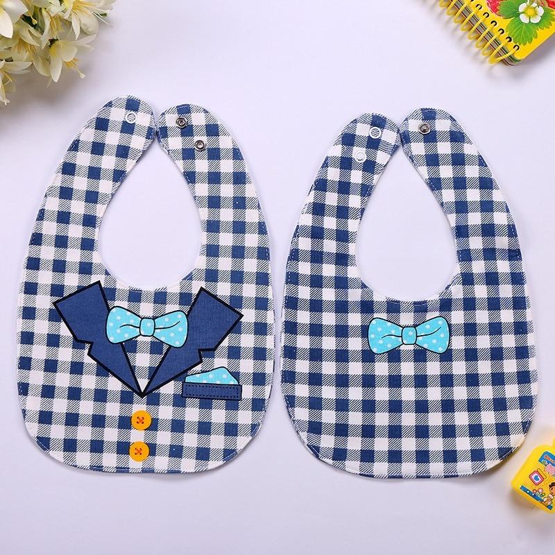 Wysokiej jakości Cute Cartoon Cotton Dziewczynek lub chłopców Bibs - Odzież dla niemowląt - Zdjęcie 3