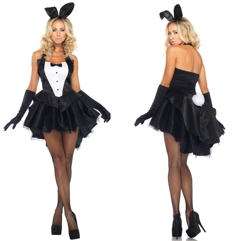 2017 Sexy Rabbit Bunny Girl Dress Nightclub Dancer Halloween Erotic Cosplay Toys Adult Games Sex Toys For Woman