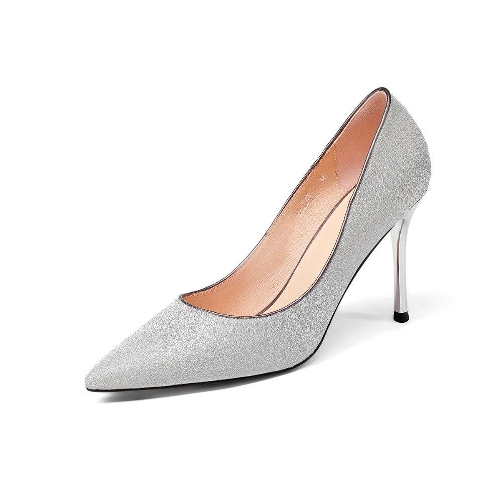 Talons 2018 Silver Pompes Arden Haute De Dames Femme Mode Printemps Bout Chaussures Mariage Cm Rose Pointu Pour Stilettos Furtado 9 Blanc pink Automne awC5gw1q
