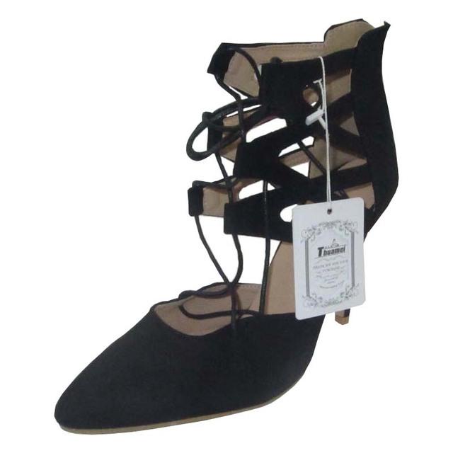 New Fashion Women Pumps Wedding Sexy Shoes High Heels Women Shoes Spring Summer Autumn Black Shoes Woman Thin Heels #Y0589637L